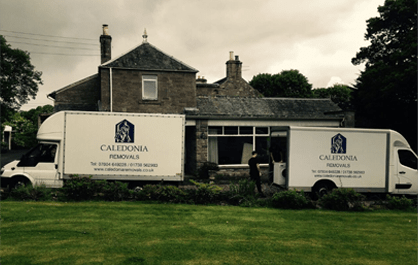 Caledonia Removals - Moving People's Belongings Across the UK