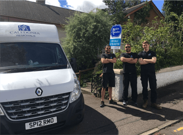 Caledonia Removals - Let us take the strain